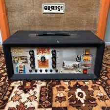 Vintage 1970s Selmer Treble N Bass 100 SV Silver Valve Amplifier Head