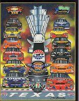 NASCAR November 2007 Texas Motor Speedway Magazine 082317nonjhe
