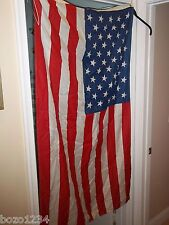 2pcLot 3' x 5' Nylon American Flags 50 Stars 1 New 1 Gently Used w/ Grommets