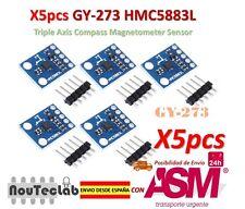 5pcs GY-273 QMC5883L Triple Axis Compass Magnetometer Sensor HMC5883L Compatible