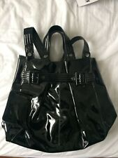 Jaegar Patent Leather Black Handbag