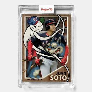 Topps PROJECT 70 Card 432 - Juan Soto by Greg 'CRAOLA' Simkins - PRESALE!