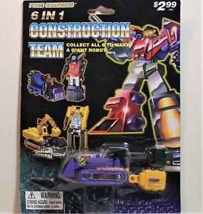 KO Transformers G1 Constructicon BONECRUSHER Combiner (Purple Variant), Sealed