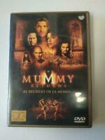 2 DVD El Regreso de la Momia. The Mummy Returns. Brendan Fraser. Muchos extras