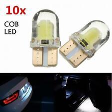10pcs White T10 W5W 8SMD 194 168 LED Canbus Error Free Silica Light Bulb 6000K