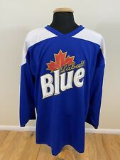 Labatt Blue Hockey Jersey Size Xl Beer Bar Advertising