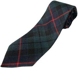 Gents Pure Wool Morrison Tartan Tie - MADE IN SCOTLAND