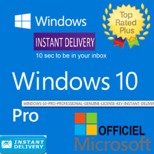 WINDOWS 10 PRO PROFESSIONAL GENUINE  🔑🔑 LICENSE 🔑 KEY 🔑 INSTANT DELIVERY  🔑