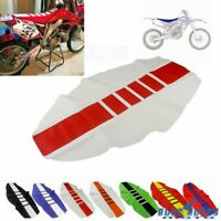 Gripper Soft Seat Cover Rib Skin Rubber for Yamaha YZF250 YZ250F Dirt Pit Bike