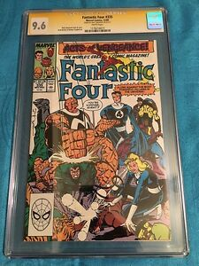 Fantastic Four #335 - Marvel - CGC SS 9.6 NM+ Signed by Walt Simonson
