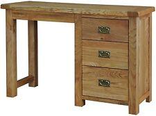 Bracken solid oak furniture small bedroom dressing table