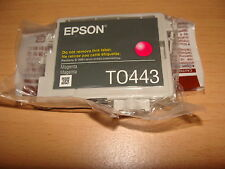 Original Epson T0443 magenta Tintenpatrone Stylus C64 C66 C84 C86 CX6400 CX6600*