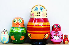 """Higglytown Heroes Nesting Stacking Dolls 4"""" Fast Shipping"""