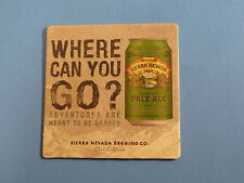 BEER COASTER ~ Sierra Nevada ~ Pale Ale ~ Chico California ~ Where Can You Go?