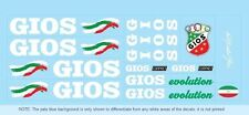 Gios Bicycle Decals-Transfers-Stickers #4