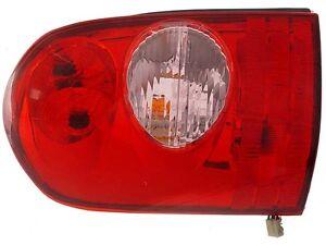 FITS 2002-2003 MAZDA MPV DRIVER LEFT REAR TAIL LIGHT ASSEMBLY