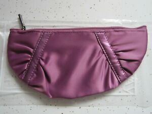 MARY KAY Tropical Fruits Collection Bag Makeup Zipper Clutch Purple NEW 2009