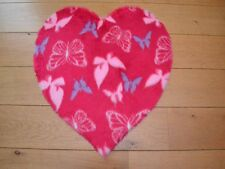 Cute Girls Pink Butterfly Hearts Small Size Rugs Fluffy Bedroom Floor Mats Cheap