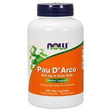 NOW Foods Pau D'Arco, 500 mg, 250 Capsules