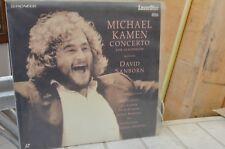 MICHAEL KAMEN CONCERTO for Saxophone LaserDisc SANBORN Clapton Gilmour Harrison