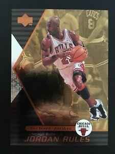 1998-99 Upper Deck Ovation Jordan Rules J5 Michael Jordan