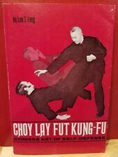 Choy Lay Fut Li Kung Fu Chinese Self Defense Martial Arts Illustrated Paperback