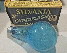 Sylvania Superflash Blue Dot 3B Flash Bulb - Nos