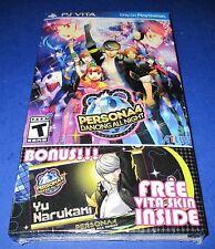 Persona 4: Dancing All Night Sony PlayStation Vita *Bonus-Free Skin & Wallpapers