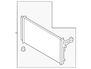 Genuine Kia Condenser 97606-J5150