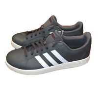 adidas GRAND COURT BASE Men's Shoes Flat Casual Trainers Gray EE7907 size 11
