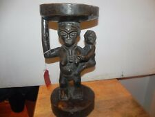 "Arts of Africa - Luba Stool - DRC - Congo 8.5"" Wide x 16.75"" Height"