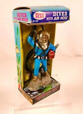 New listing Vintage Penn Plax Deep Sea Diver Aquarium Decoration Ornament Mib Pet Store Toy