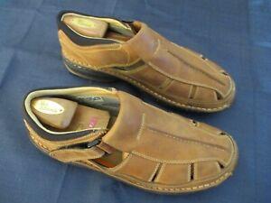 Timberland Smart Comfort System Fisherman Sandals Tan Leather Men's 10.5 Medium