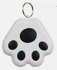 GPS Dog Cat Tracker Mini Anti-Lost Waterproof Bluetooth Locator paw key ring pet