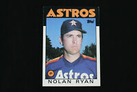 1986 Topps #100 Nolan Ryan Houston Astros  NM+