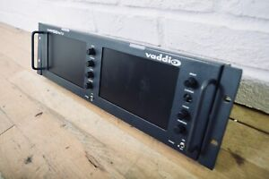 vaddio PreVIEWHD Dual 7.0 Dual LCD Panel Display excellent condition*ChurchOwned