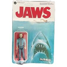 """Funko Reaction JAWS Film 3.75"""" Action Figure MAT HOOPER Toy Great Whitre Shark"""