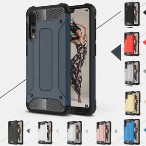 New Slim Hybrid Luxury Shockproof Armor Case Cover for Huawei  P20PRO P30 Y62019