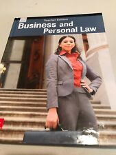 2017 Business & Personal Law Teacher Edition ISBN 978-0021400041