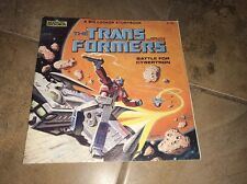 Book. The Transformers Books Marvel, Battle Of Cybertron  /the Transformers