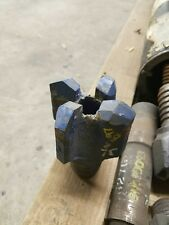 """3-1/2"""" Four Wing Carbide Chevron Drag Bit 2"""" Api If Pin Water Well Geothermal"""