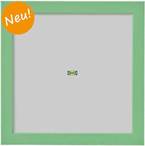 IKEA FISKBO Bilderrahmen 21 x 21 cm grün Fotorahmen Bilder Foto Rahmen NEU