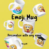 Personalised Emoji Mug - New  - Secret Santa - Multiple Designs - Gift -Multibuy