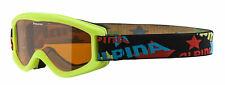 Alpina Klein- Kinder Skibrille Carvy 2.0 lime
