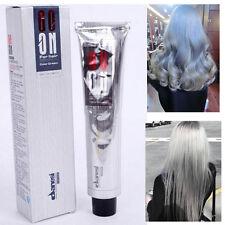 100ML Fashion Granny Hair Permanent Punk Hair Dye Light Gray Silver Colors Cream