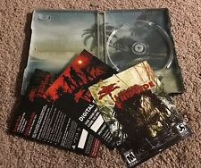 Dead Island Riptide Steelbook Case & Inserts - NO GAME