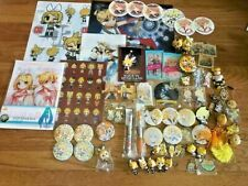 Vocaloid Kagamine Rin & Len Various Goods Set Strap Clear File Badge Figure etc.
