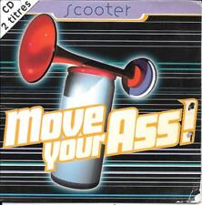 CD SINGLE 2 TITRES--SCOOTER--MOVE YOUR ASS--1995