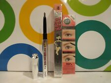 BENEFIT ~ GOOF PROOF BROW PENCIL ~ # 3 ~ 0.005 OZ MINI SIZE BOXED