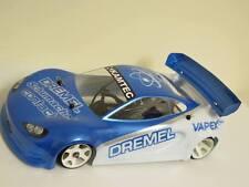 Kamtec GT12 Wing Curved lightweight Lexan high downforce 1:12 Schumacher £1.99